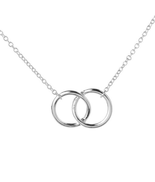 collier cercles entrelaces