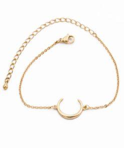 bracelet corne lune
