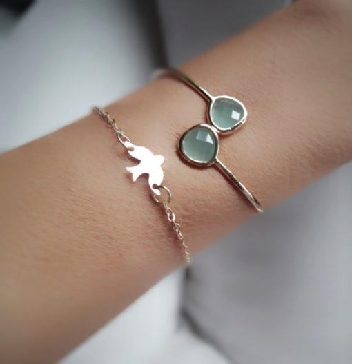 bracelet oiseau bijoux fantaisie