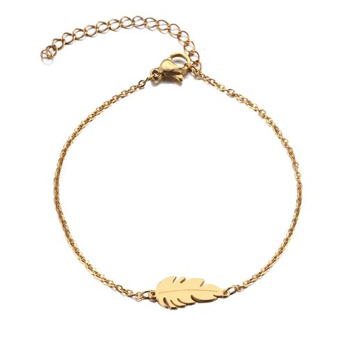 bracelet plume or