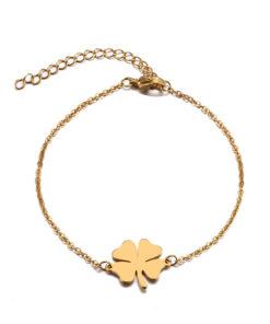 bracelet trefle or