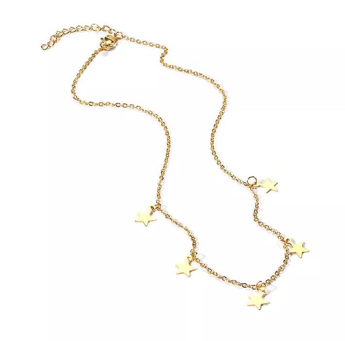acheter populaire 8d758 011fc collier etoiles