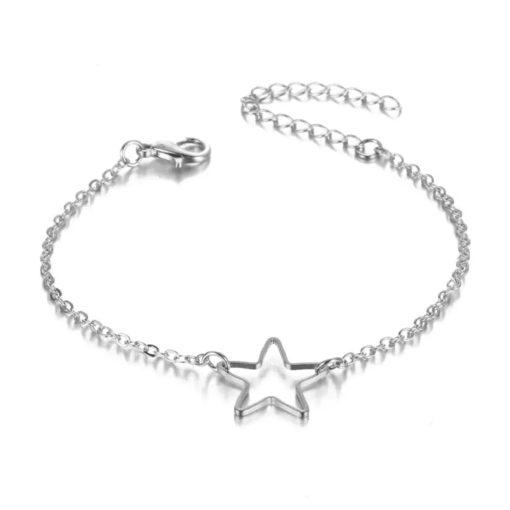 bracelet pendentif etoile