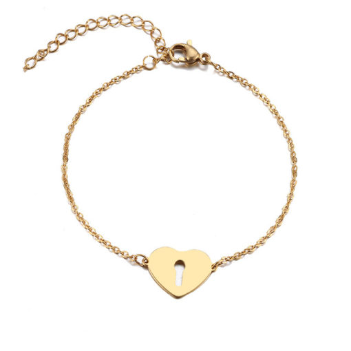 bracelet coeur original