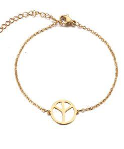 bracelet symbole paix