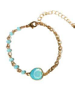 bracelet bleu cadeau tendance