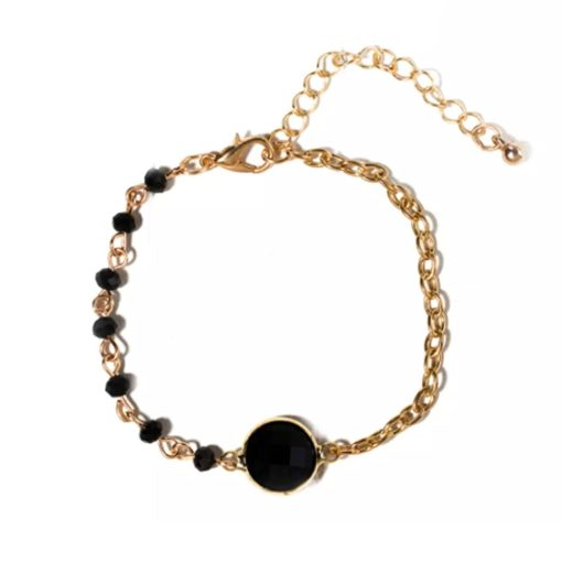 bracelet cadeau tendance noir