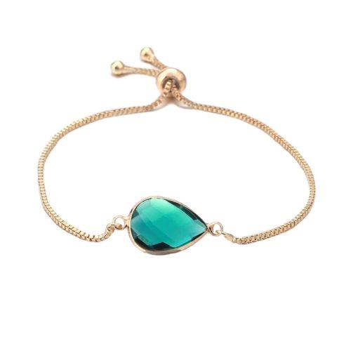 bracelet fantaisie vert