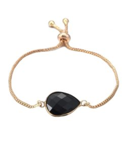 Bracelet noir fantaisie