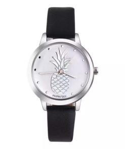 montre cadran ananas