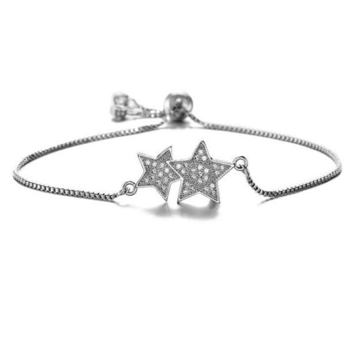 Bracelet etoile swarovski