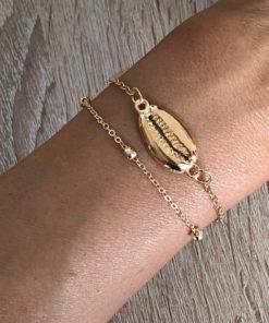 bracelet coquillage cadeau femme