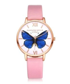 montre femme papillon
