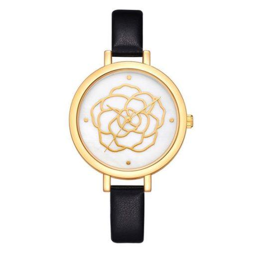montre fleur