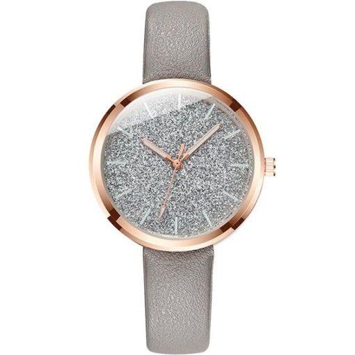 montre gris cadeau femme