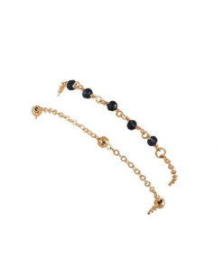 bracelet dore double rang