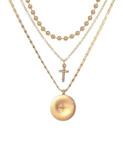 collier medaillon cadeau pas cher