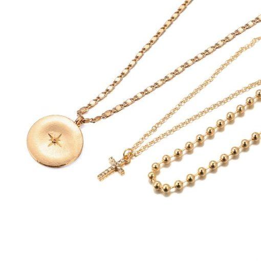 collier medaillon cadeau tendance