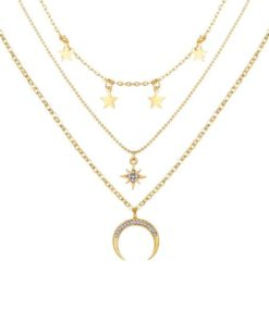 collier fantaisie corne