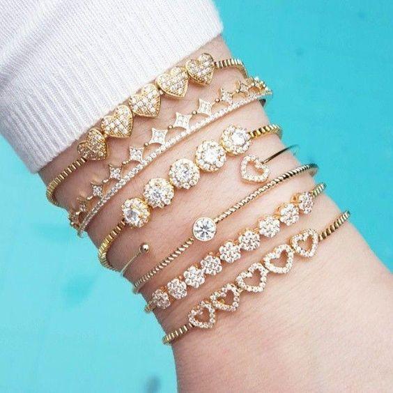 Bracelets Swarovski pas cher - Des Bijoux Fantaisie