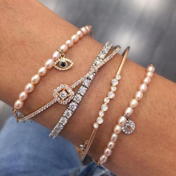 bracelet swarovski tendance