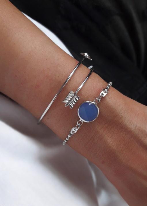 bracelets argente tendance
