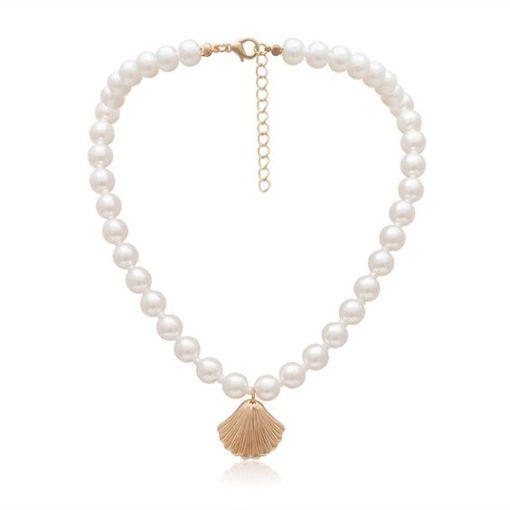 collier perles fantaisie