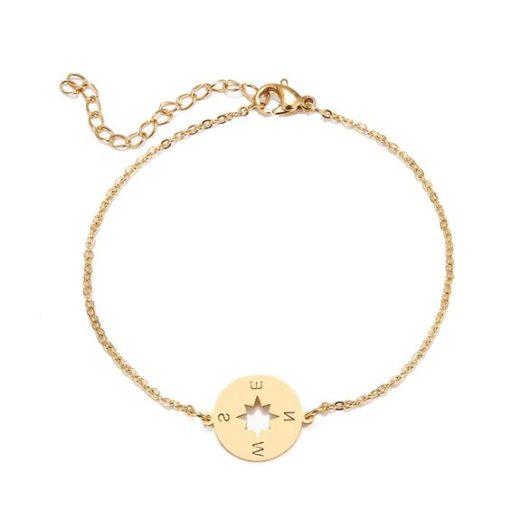 bracelet boussole cadeau