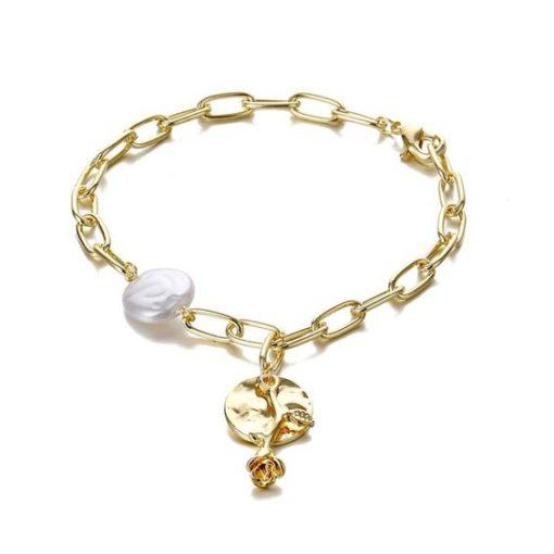 bracelet avec perle tendance