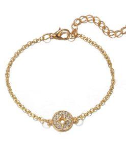 bracelet cercle strass