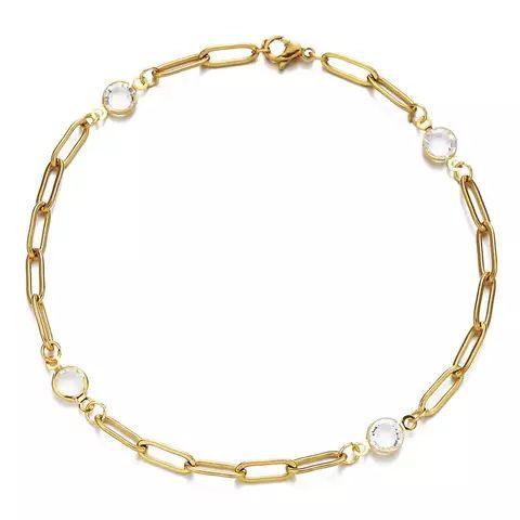 bracelet chaine gourmette