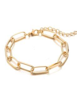 bracelet gros maillon pas cher