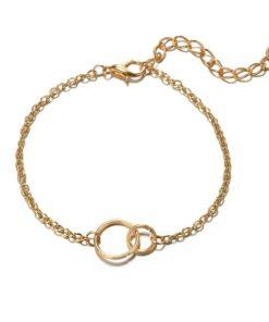 bracelet cercles entrelaces pas cher