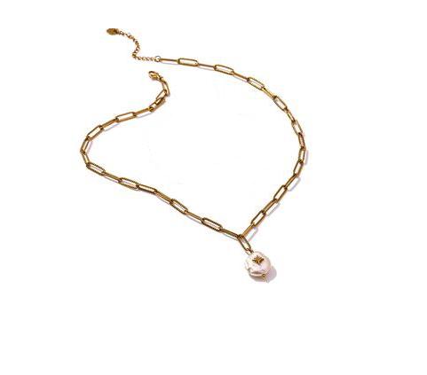 collier perle cadeau original