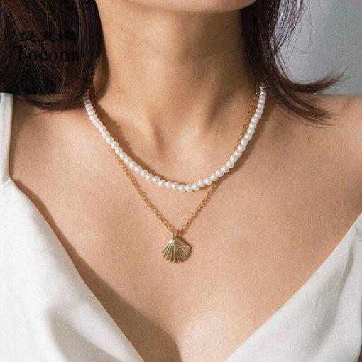 collier d ete femme