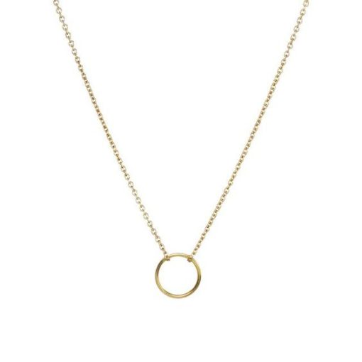 collier pendentif cercle