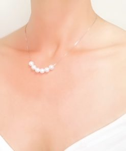 collier perles cadeau pas cher